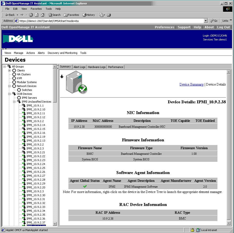 DELL ITA Application - � 2006 Dell Inc. All Rights Reserved