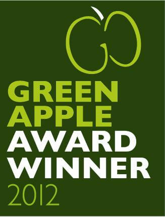 Winner of the Green Apple Award 2012